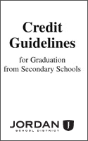 Credit Guidelines for Graduation from Secondary Schools Cover